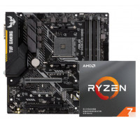 ASUS TUF B450M-PLUS GAMING + AMD Ryzen 7 3700X