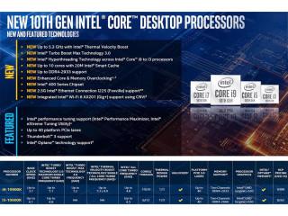 Обзор Intel Core i9-10900K и i5-10600K: тесты Comet Lake-S