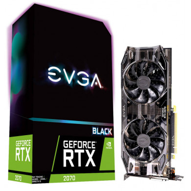 EVGA GeForce RTX 2070 BLACK GAMING 8GB GDDR6